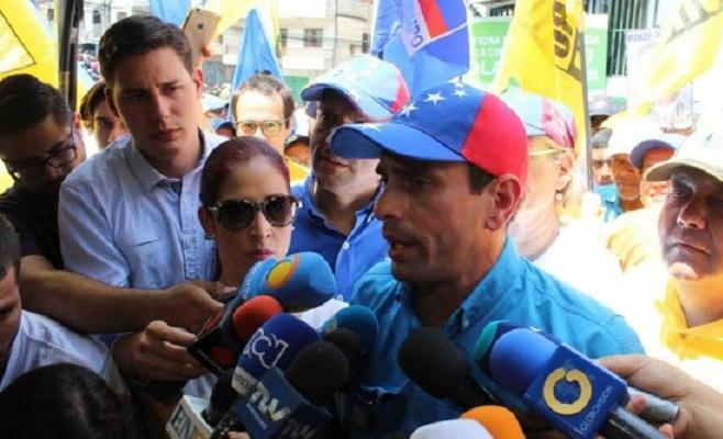 Henrique Capriles (Foto PJ)