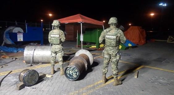 Otro embarque de cocaína en un contenedor transportado por Maerks en el puerto de Manzanillo
