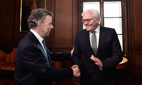 Alemania valora acuerdo de paz en Colombia