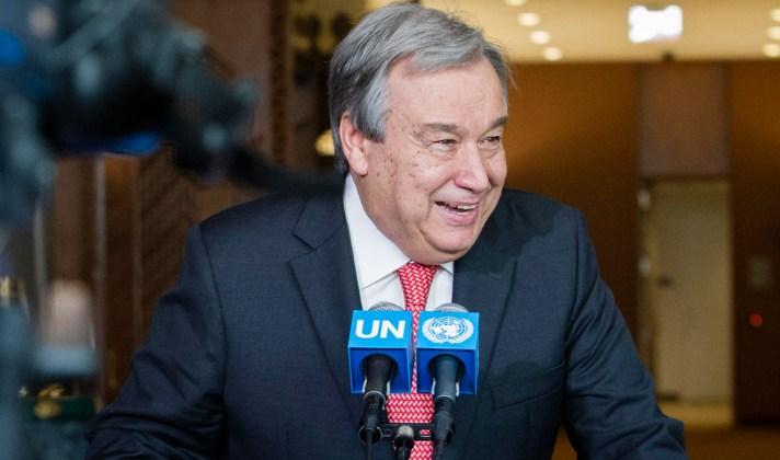 Nuevo Secretario General de la ONU: 'Hagamos de 2017 un año de paz'