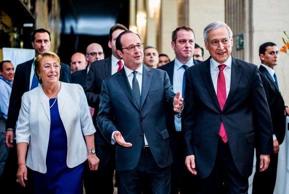 """Canciller: """"Francia es un aliado clave de Chile y su futuro"""""""
