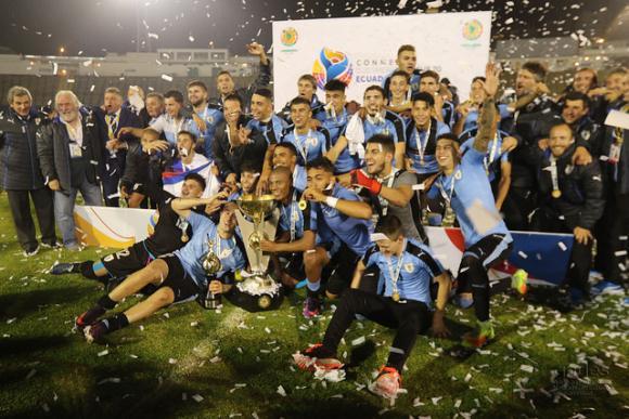 Fútbol: Uruguay se consagra campeón sudamericano sub 20