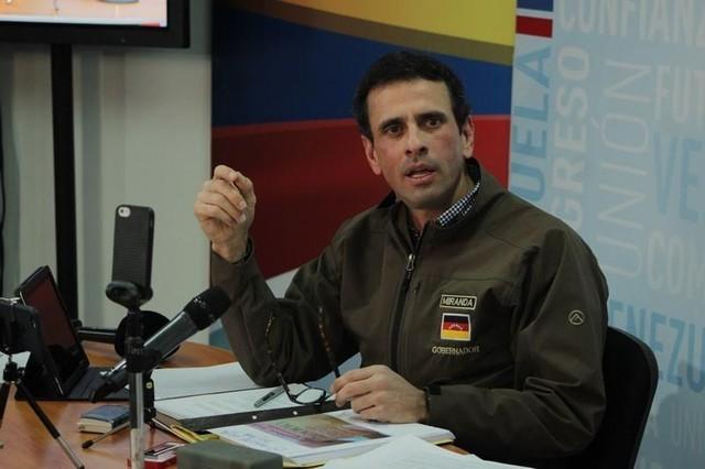 Corrupción: Capriles confirma la relación entre Odebrecht y Diosdado Cabello