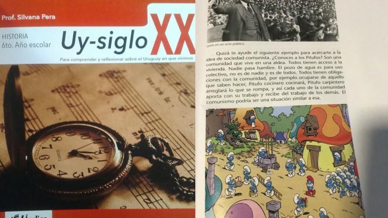 Demandarán a editorial uruguaya por un libro que presenta a Los Pitufos como comunistas