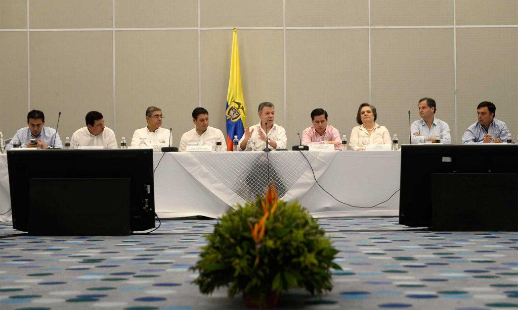 """Santos: """"los acuerdos alcanzados entre el Gobierno Nacional y las Farc no son renegociables"""""""