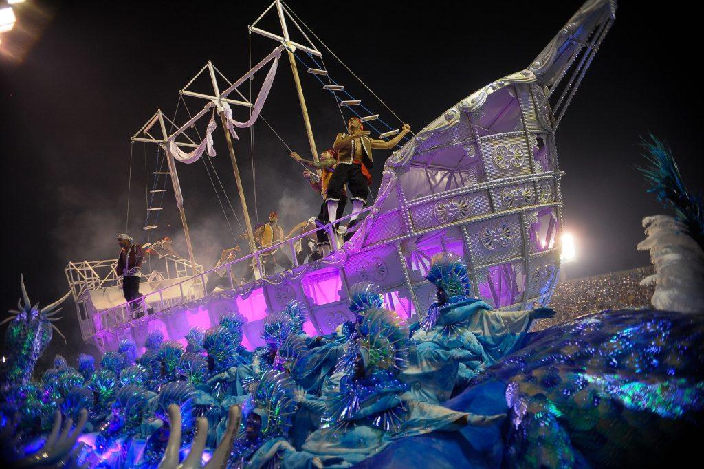 Portela es la escola do samba ganadora del Carnaval de Río