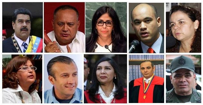 ¿Cuál será el destino de estos personajes el día que vuelva la democracia a Venezuela?