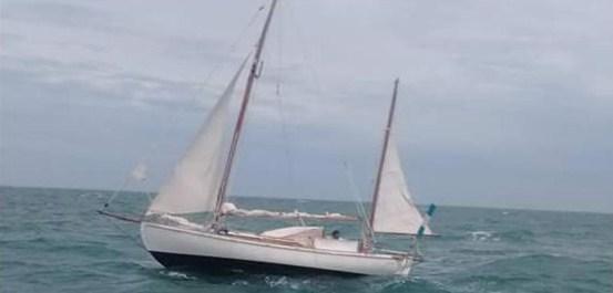 Navegante solitario fue rescatado por Uruguay y EEUU a 3.600 km. de Montevideo