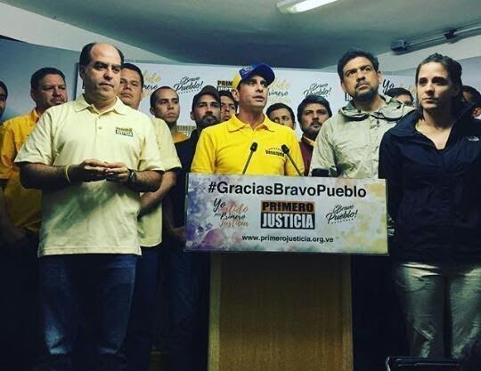 Golpe al chavismo: más de 200 mil personas logran validar al partido opositor 'Primero Justicia'