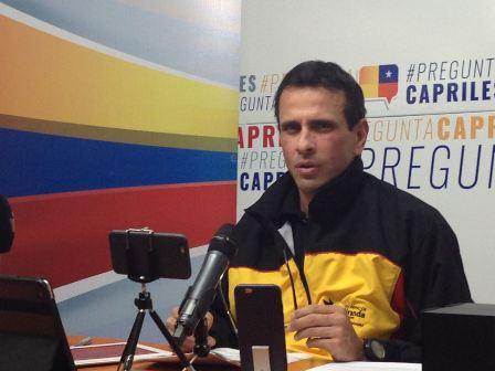 Capriles: 'Creían que Almagro iba a ser servil al madurismo pero les salió una sorpresa'