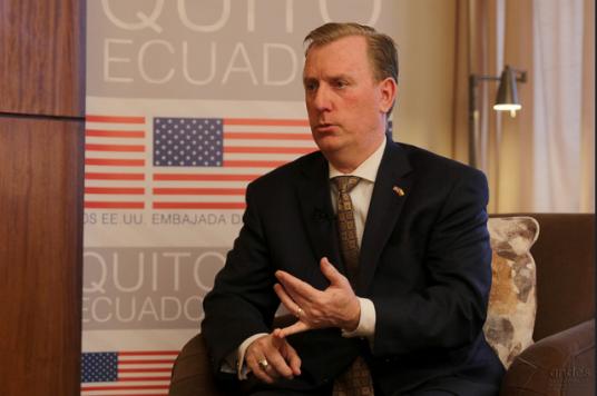 """EE.UU. ve """"con mucho optimismo"""" perspectivas de las relaciones con el gobierno de Lenín Moreno"""