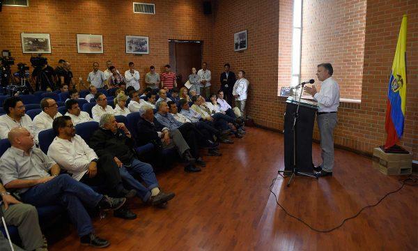 Las FARC entregan el 60% de sus armas a la ONU