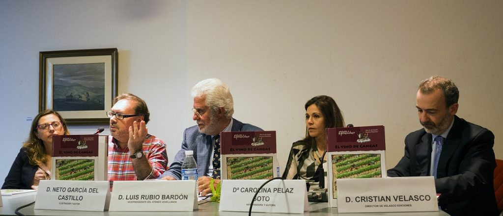 Se presenta en Gijón el libro 'El vino de Cangas'