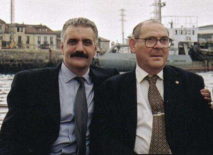 Asturias: Ceremonia de 'Unión de los Océanos' y merecido homenaje a Agustín Santarúa