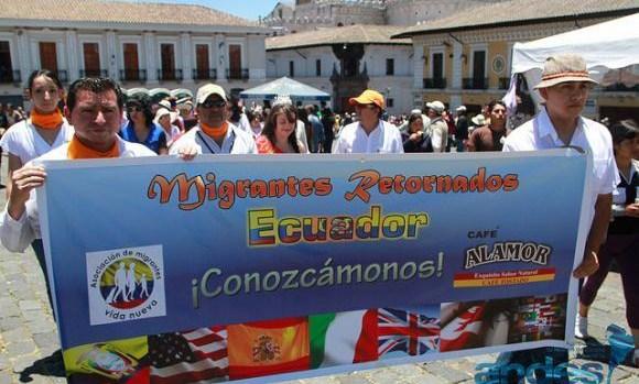 Ecuatorianos retornados tienen plazo hasta el 6 de agosto para obtener Certificado de Migrante