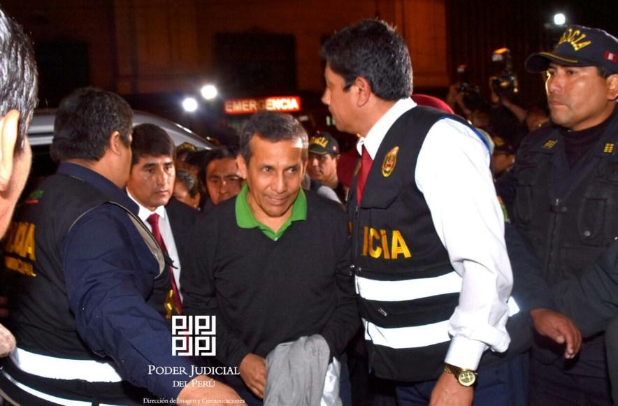 Corrupción: rechazan recurso y Ollanta Humala y su esposa seguirán presos