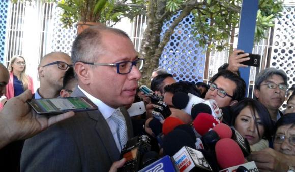 Fiscalía de Ecuador pedirá iniciar proceso penal contra el vicepresidente Jorge Glas
