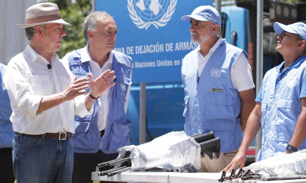ONU informó que concluyó con éxito el proceso de extracción de la totalidad del armamento de las FARC