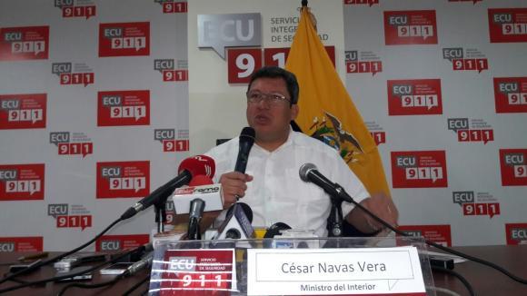 Supuesta fuga de información habría facilitado evasión de Ramiro González: Ministro del Interior de Ecuador