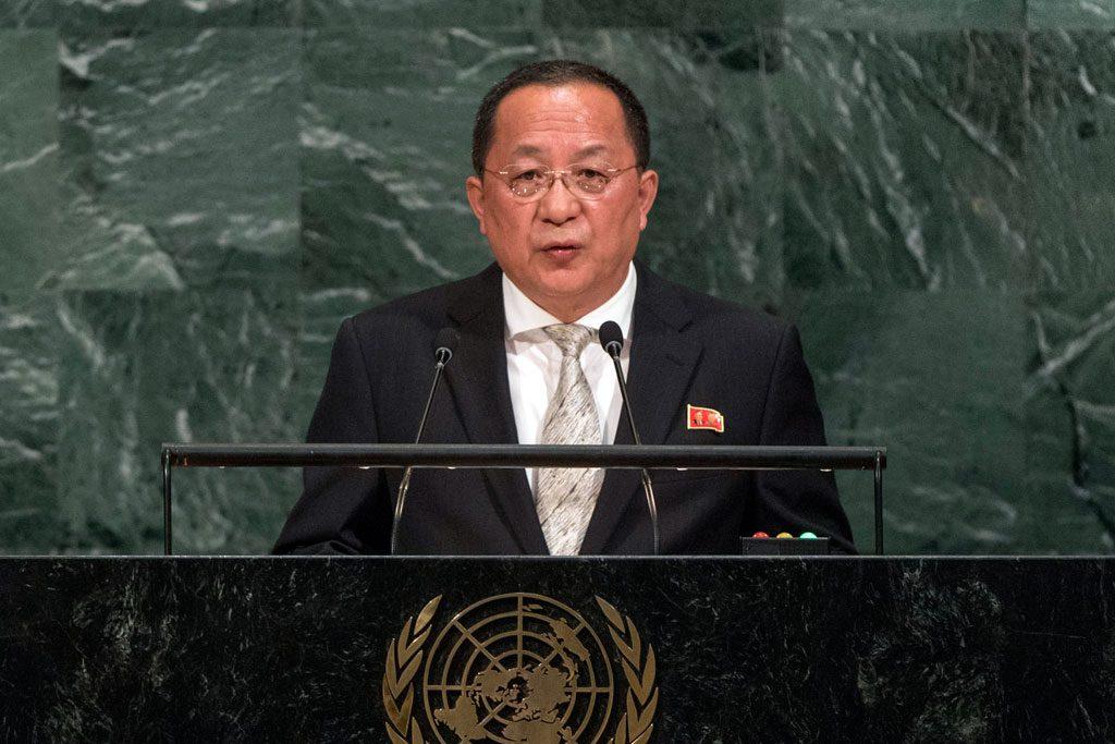 Corea del Norte dice en la ONU que sus armas nucleares son de defensa