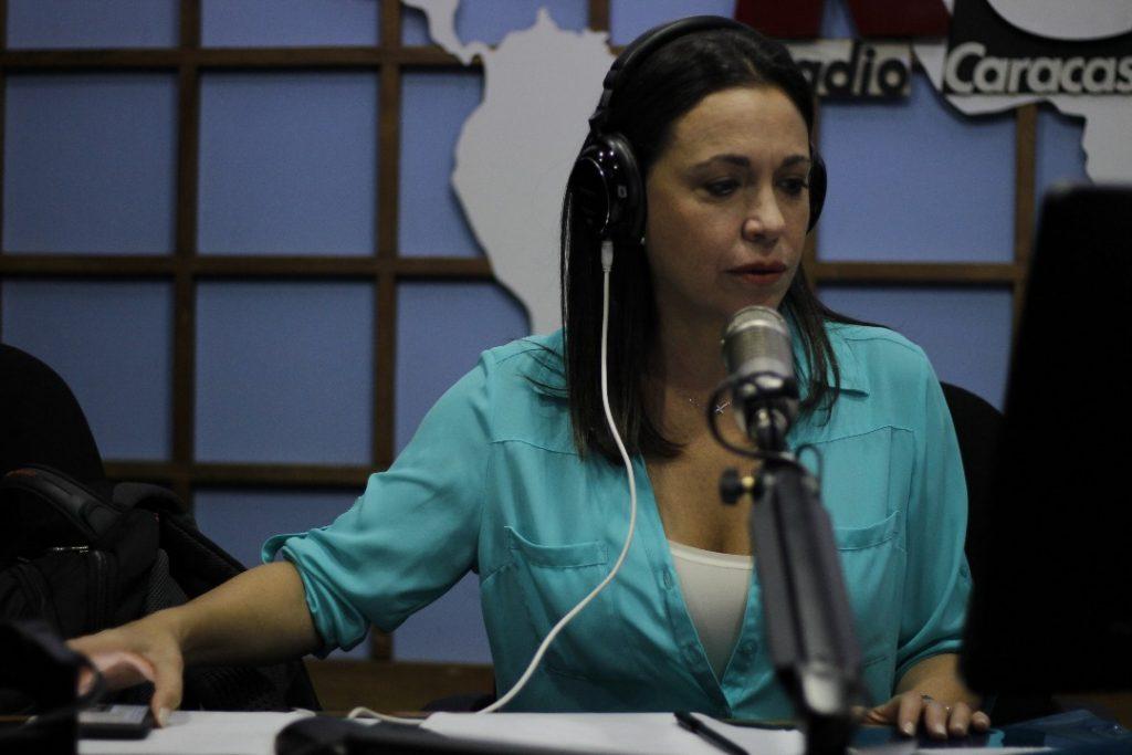 María Corina Machado anuncia que jamás reconocerán a la ilegal Constituyente