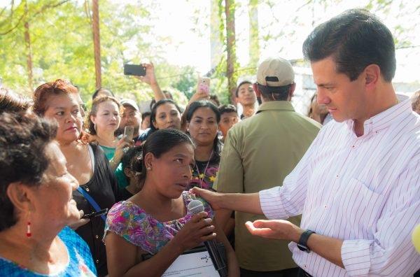 Peña Nieto destaca avances en reconstrucción de zonas afectadas por el sismo de septiembre