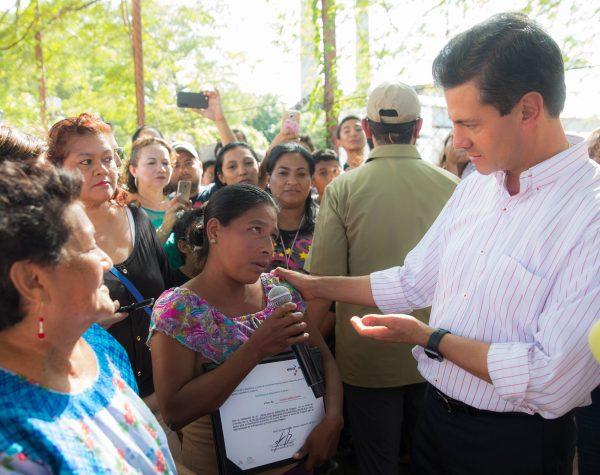 Peña Nieto destaca avances en la reconstrucción de zonas afectadas por  el sismo del pasado 7 de septiembre