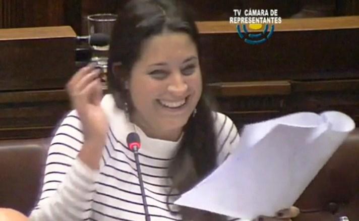 La risa de la diputada Manuela Mutti no es lo que me preocupa