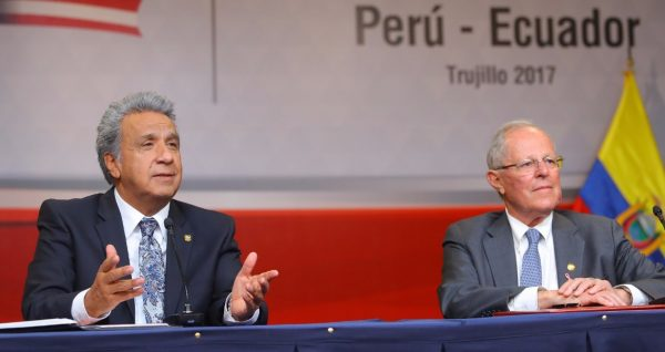 Perú y Ecuador acuerdan lucha conjunta contra la corrupción y la delincuencia organizada