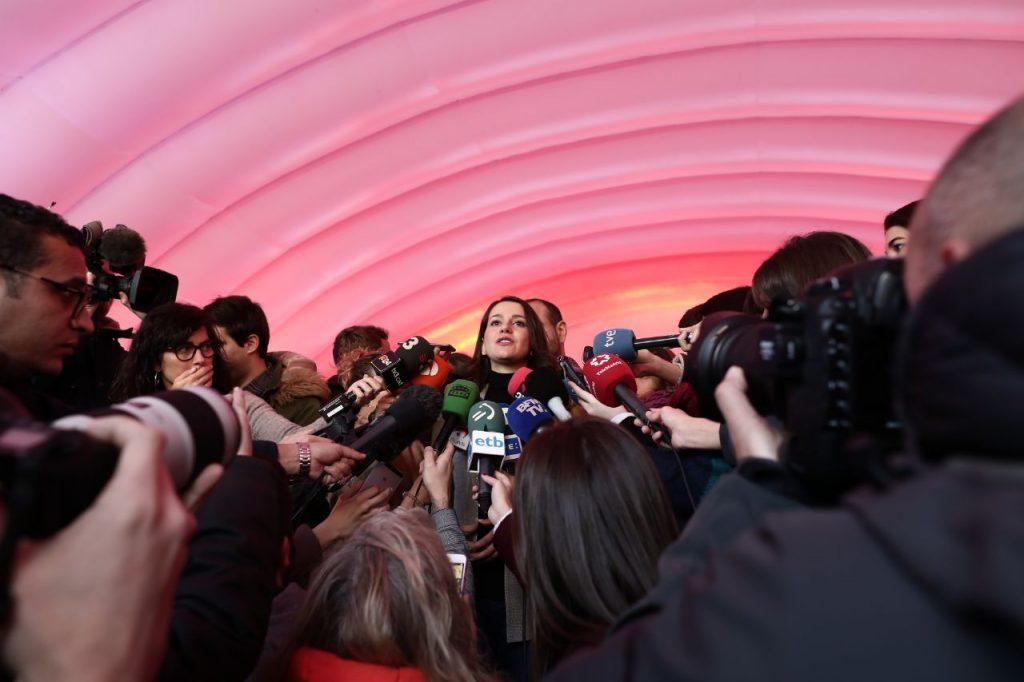Inés Arrimadas: 'El 21D tenemos la oportunidad de acabar con el 'procés' en Cataluña