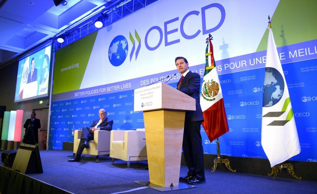 Peña Nieto destaca ante la OCDE logros del proceso de reformas estructurales