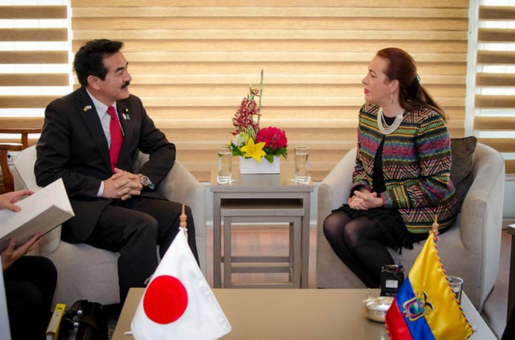 Ecuador y Japón relanzan su agenda al celebrar el centenario de sus relaciones diplomáticas