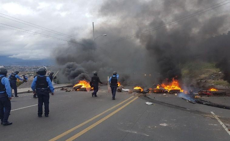Preocupa a la ONU aumento de disturbios por la oposición en Honduras