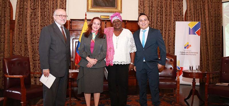Cancillería de Ecuador presenta la hoja de ruta para la política exterior 2017-2021