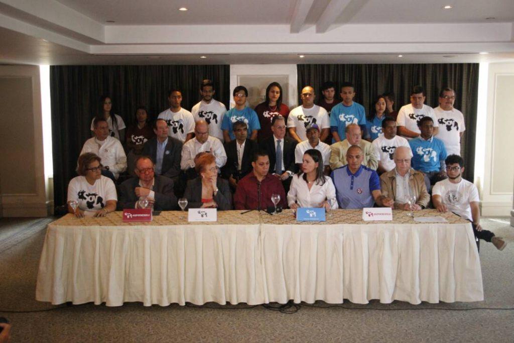 Alianza 'Soy Venezuela' pide a Chile y México poner fin al diálogo con el régimen chavista